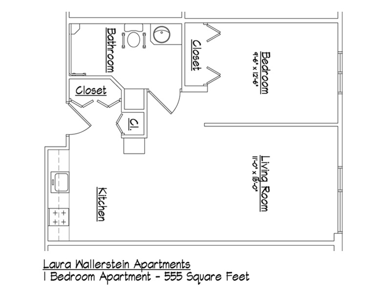 Handicap Accessible Apartment Floor Plans Thefloors Co