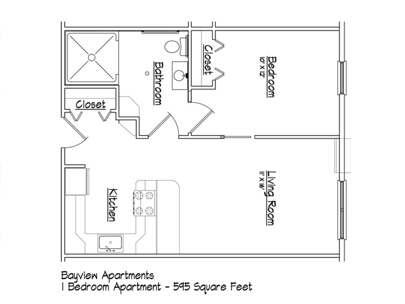 Wheelchair accessible apartment floor plans thefloors co for Accessible house plans